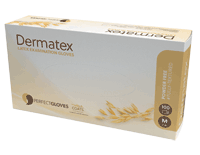 Guanti in lattice Dermatex senza polvere